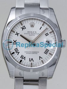 Rolex Date Mens 115210 Stainless Steel Oyster Bralecet Stainless Steel Case Mens Watch