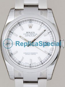 Acier inoxydable Rolex Datejust Mens 116200WSO automatique Oyster Bralecet Mens Watch ronde