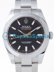 Rolex Milgauss 116400B Round Mens Automatic Watch