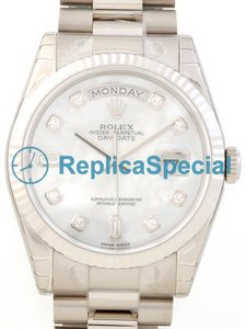 Rolex President Midsize 118239NCA Automatisk Black Dial Stainless Steel Bralecet Watch