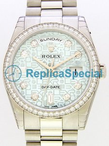 Rolex President Midsize 118346A Armband Stainless Steel Case Automatisk Klocka