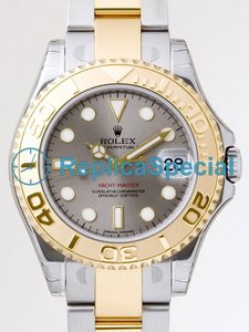 Rolex Yachtmaster 16623GYSO Automaattinen Mens Grey Dial Watch