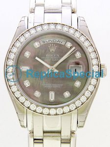 Rolex Masterpiece 18946 Round Mens automaattinen Platinum Case Watch