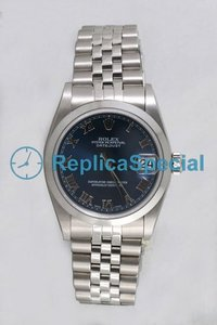 Rolex Datejust Midsize 78240 Stainless Steel automatica Jubilee Bralecet rotonda Guarda