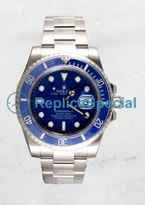 Rolex Submariner 116.619 Mens White Gold Oyster Bralecet Orologio automatico