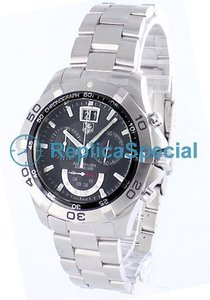 Tag Heuer Aquaracer CAF101A.BA0821 Round Mens Stainless Steel Bralecet Swiss Quartz Watch