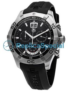 Tag Heuer Aquaracer CAF101A.FT8011 Rubber Bralecet Mens Swiss Quartz Watch