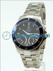 Tag Heuer Aquaracer CAF7110.BA0803 Manual Winding Mens Stainless Steel Bezel Watch