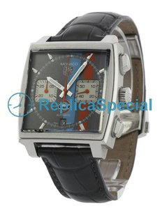 Tag Heuer Monaco CAW2113.FC6250 Mens Meteor with Blue GULF logo Dial Watch