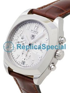 Tag Heuer Classic Monza CR5111.FC6176 Round White Gold Bezel Automatic Watch