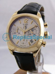 Tag Heuer Monaco CR514A.FC8146 18K Yellow Gold Bezel Automatic Mens Watch