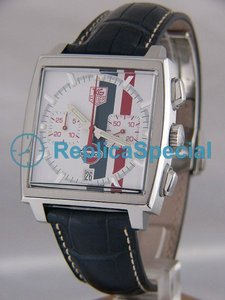 Tag Heuer Monaco CW2118.FC6207 Square Stainless Steel Bezel Automatic Watch