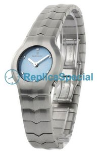 Tag Heuer Alter Ego WAA1413.BA0761 Brushed stainless steel Bezel Round Womens Watch