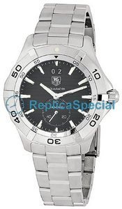 Tag Heuer Aquaracer WAF1014.BA0822 Black Dial Schweizisk Quartz Mens Watch