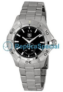 Tag Heuer Aquaracer WAF1014BA0822 Round Mens Stainless Steel Bezel Watch