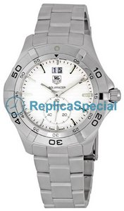Tag Heuer Aquaracer WAF1015.BA0822 Round Swiss Quartz Stainless Steel Case Watch