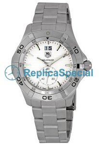 Tag Heuer Aquaracer WAF1015BA0822 Stainless Steel Bralecet Quartz Mens Round Watch