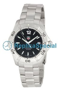 Tag Heuer Aquaracer WAF1110.BA0800 2000 Round Swiss Quartz Stainless Steel Bralecet Watch