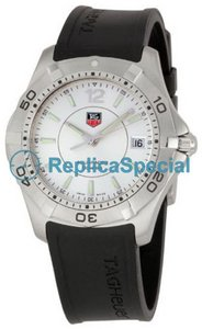 Tag Heuer Aquaracer WAF1112.FT8009 Mens Stainless Steel Bralecet Silver Dial Watch