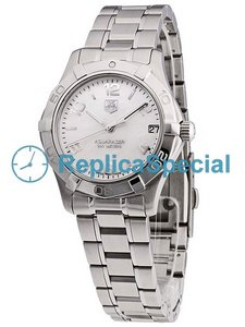 Tag Heuer Aquaracer WAF1311.BA0817 Womens Oval Stainless Steel Case Watch