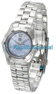 Tag Heuer Aquaracer WAF1419.BA0824 Blue Dial Round Naisten Stainless Steel Asia Watch