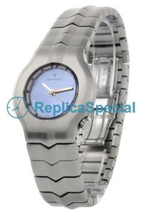 Tag Heuer Alter Ego WP1312.BA0750 Brushed stainless steel Case Round Womens Quartz Watch