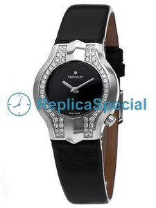 Tag Heuer Alter Ego WP1416.FC8148 Oval Black Dial Womens Watch