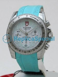 Tudor Glamour Date - Day Lady 20310 Stainless Steel rund form Case Automatisk kvinna klocka