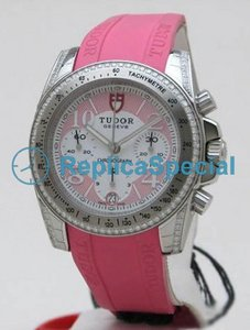 Tudor Glamour Date - Day Lady 20310 Womens Automatisk Round Watch