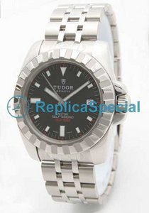Tudor Glamour Date- Day Lady TD20010BK Cassa in acciaio Mens Watch Automatico