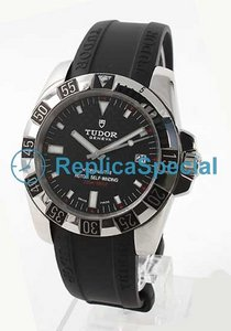 Tudor Glamour Date- Day Lady TD20030CBKRBK Cassa in acciaio Quadrante Nero Mens Watch