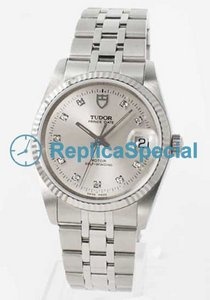 Tudor Glamour Date-Day Lady TD74034SLD5 Automatic Bracelet Stainless Steel Bralecet Watch