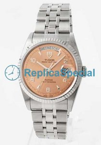 Tudor Glamour Date-Day Lady TD76214PKA5 Stainless Steel Bezel Automatic Mens Watch
