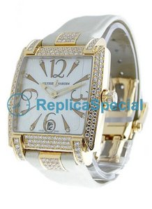 Ulysse Nardin Caprice 136-91AC/06-03 Square White Dial Womens Watch