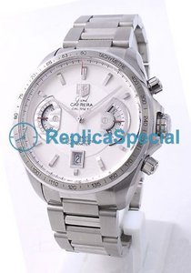 Tag Heuer Carrera CAV511B.BA0902 Round Silver Dial Mens Automatic Watch